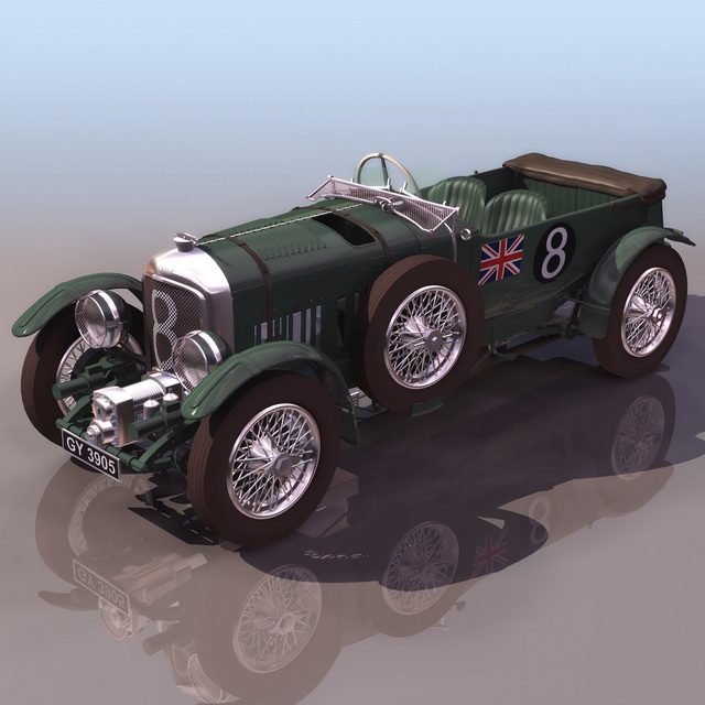Luxury Cars Bentley Car Cars: Bentley 8 Litre Luxury Car 3d Model 3ds Files Free