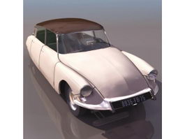 Citroen DS19 Executive car 3d model