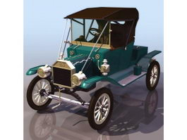 Ford Model T automobile 3d model