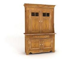 Wall storage cabinet 3d model