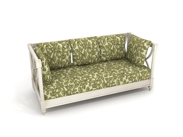Fabric sofa bed 3d model 3dsmax files free download for Sofa bed 3d model