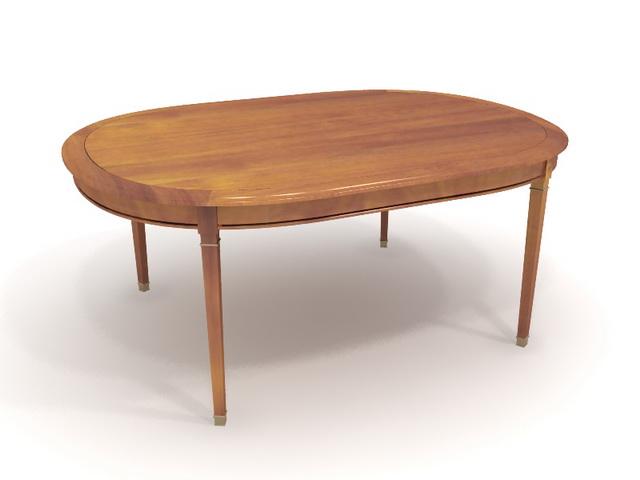 Wooden modern dining table 3d model 3dsMax files free  : 1 13102G31443310 from www.cadnav.com size 640 x 480 jpeg 39kB