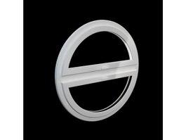 Round window 3d model