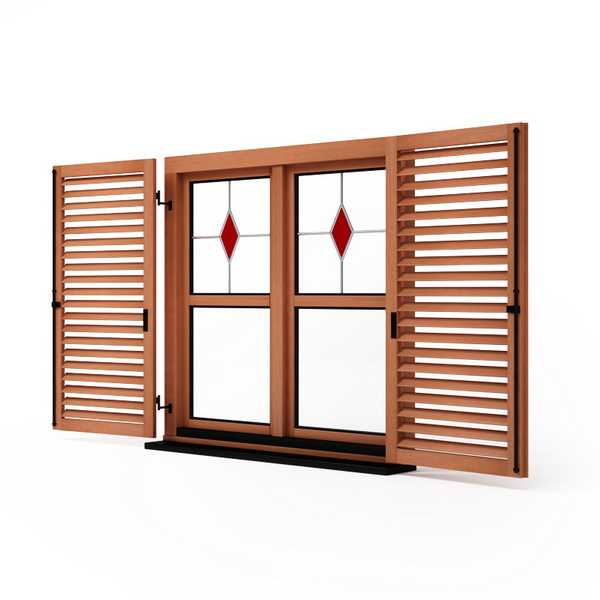 Double timber window 3d model 3dsmax files free download for Window 3d model