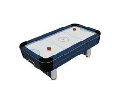 Game craft hockey table 3d model