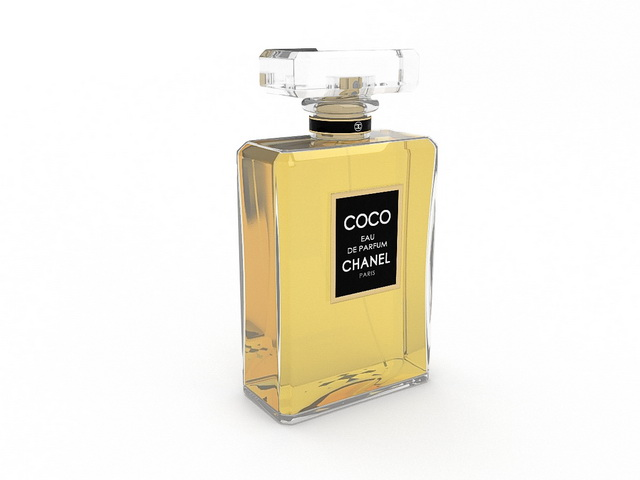 Coco Chanel Perfume 3d Model 3dsmax Files Free Download