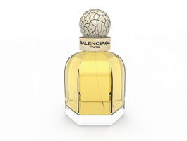 Balenciaga Paris perfume 3d model