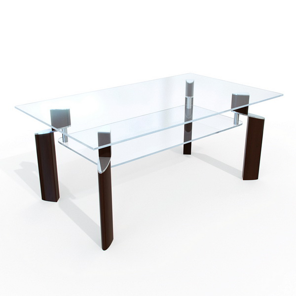 Elegant Glass Dining Table elegant glass dining table 3d model 3dsmax,maya files free