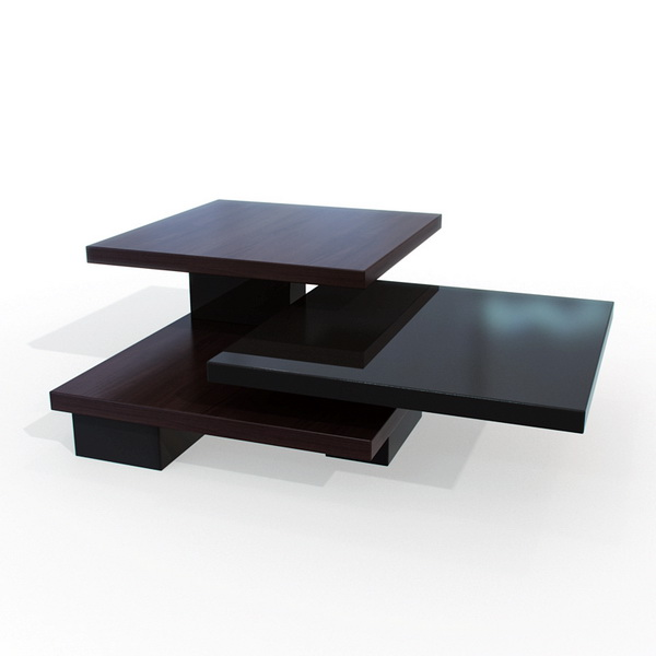 Modern Wood Coffee Table 3d Model 3dsmax Maya Files Free