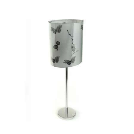 Fabric shade modern floor lamp 3d rendering