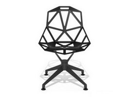 Leisure outdoor chair 3d model