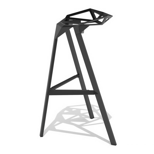 Stackable bar stool 3d model 3dsmax files free download for Food bar 3d model