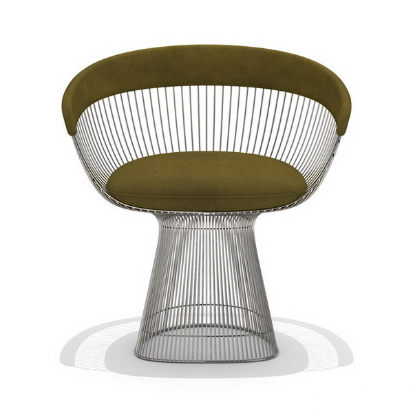 Knoll Platner Armchair 3d Model