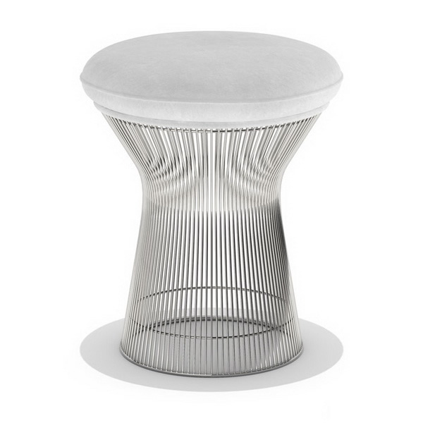 Knoll Platner Stool 3d Model