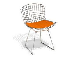 Knoll Bertoia side chair 3d model
