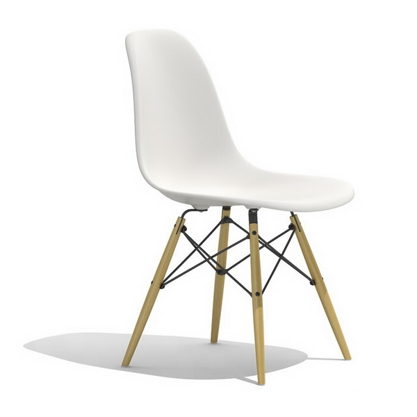 Ray Eames Dsw Plastic Dining Side Chair 3d Model 3dsmax