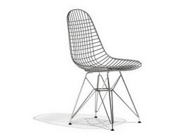 Ray Eames DKR wire dining chair 3d model