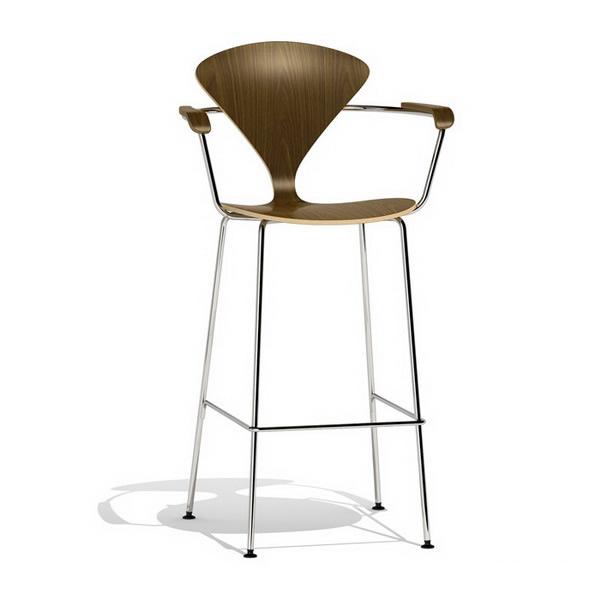 Norman cherner bar stool metal base 3d model 3dsmax files free download modeling 9852 on cadnav - Norman cherner barstool ...