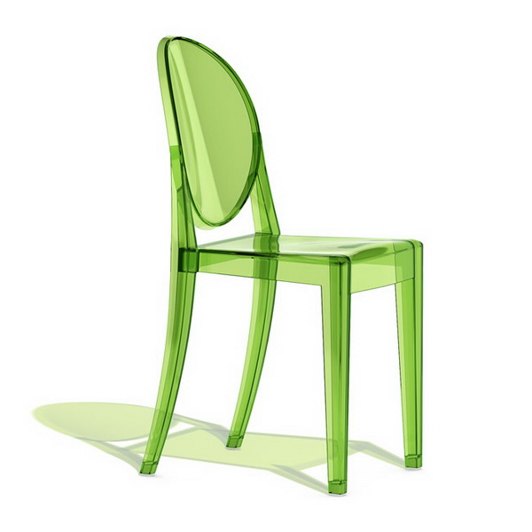 Philippe Starck ghost chair 3d - 40.0KB
