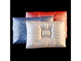Memory foam pillow 3d model