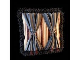 Home decorative cushion 3d model