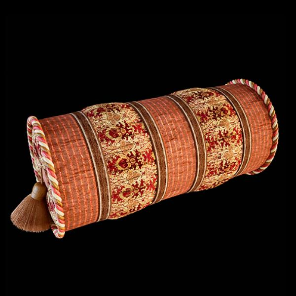 Decorative Bed Roll Pillows : Decorative neck roll pillow 3d model 3dsmax files free download - modeling 9932 on CadNav