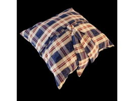 Elegant throw pillow 3d model