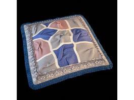 Craft cushion pillow 3d model