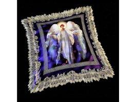 Decorative throw pillow 3d model