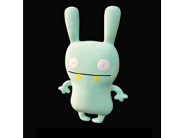 Ugly doll stuffed toy moxy 3d model
