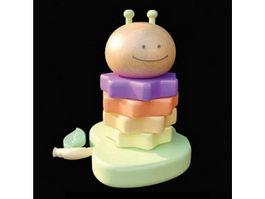 Baby block toys 3d model
