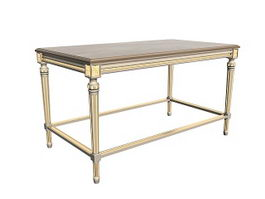French console table 3d model