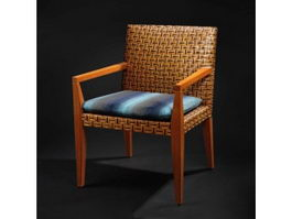 Chinese antique leisure chair 3d model