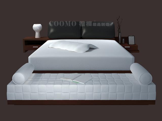 Luxury Modern Bed 3d Model 3dsmax Files Free Download