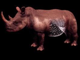 Rhinoceros 3d model