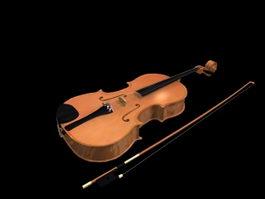 Viola 3d model