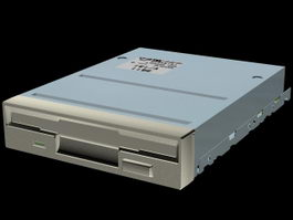 3.5 Inches Floppy disk 3d model
