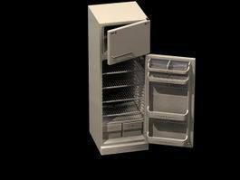 Home electric refrigerator 3d model
