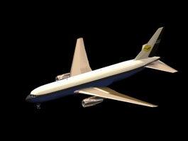 Boeing 767 airplane 3d model