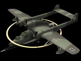 Blohm & Voss BV 138 flying boat 3d model