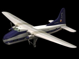 Bristol Type 170 Freighter 3d model