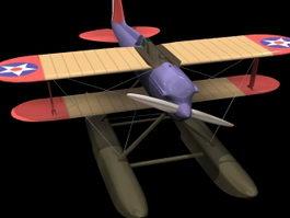 Curtiss CS torpedo bomber 3d model