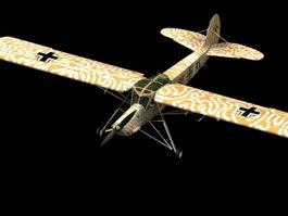 Fi 156 Storch liaison aircraft 3d model