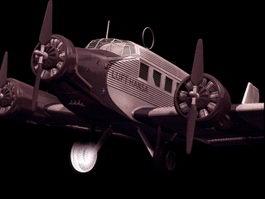 Junkers Ju 88A-4 dive-bomber 3d model