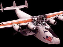 Boeing Clipper flying boat 3d model