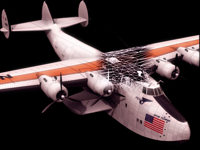 Boeing Clipper Flying Boat 3d Model 3dsmax Files Free
