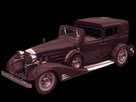 Cadillac Type 51 luxurious automobile 3d model