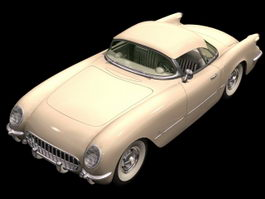 Chevrolet Corvette 2-door coupe 3d model