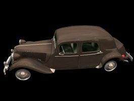 Citroen Rosalie Coupe 3d model