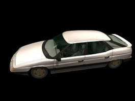 Citroen XM 5-door hatchback 3d model